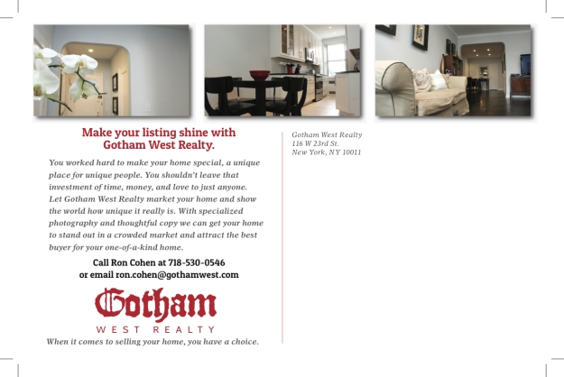 Gotham West Direct Mail General August 2013 FINAL01 reverse