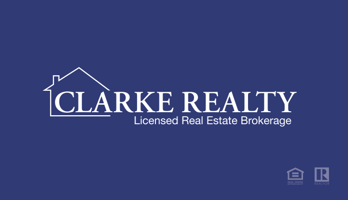 Clarke Realty Business Card Tiffany French FRONT
