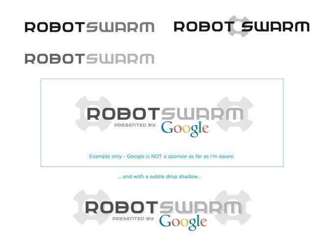 robotswarm logo concepts